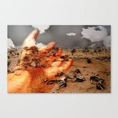 kuraklık Canvas Print