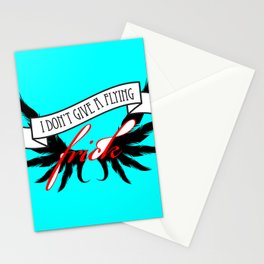 """""""I Don't Give A Flying Frick"""" Stationery Cards"""