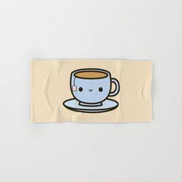 Cute cup of tea Hand & Bath Towel