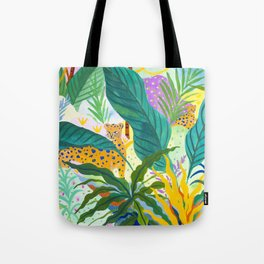 Paradise Jungle Tote Bag