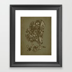 The Walkin' Closet Framed Art Print