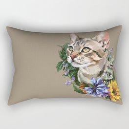 Cat : Catnip Rectangular Pillow