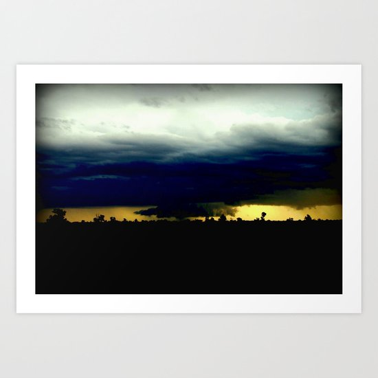 Wall Cloud  Art Print