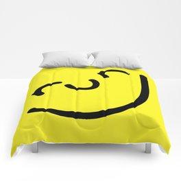 Run Smiley Comforters