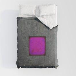 Slate Gray Lavender Fuschia Modern Art Comforters