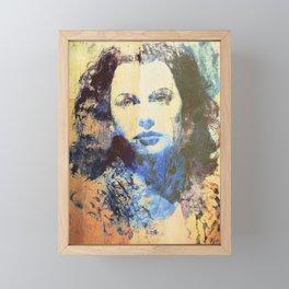 Divas - Hedy Lamarr Framed Mini Art Print