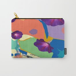 Morning Glory Collage Carry-All Pouch