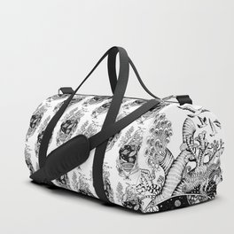 Cosmos Space Heart Duffle Bag