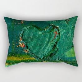 Heart Impressions No. 3 by Kathy Morton Stanion Rectangular Pillow
