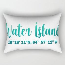water island Rectangular Pillow