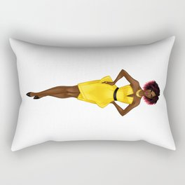 The Yellow Dress Rectangular Pillow