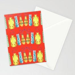 Bottle Pattern Stationery Cards