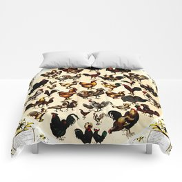 The Poultry of the World Comforters