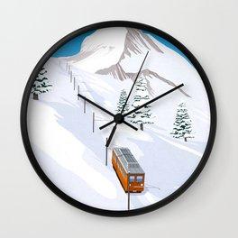 Zermatt Wall Clock