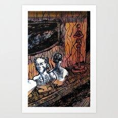 Museum No. 2 Art Print