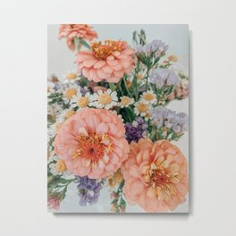 Light and Muse | Floral Bouquet no. 3 Metal Print