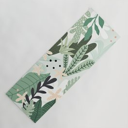 Into the jungle II Yoga Mat