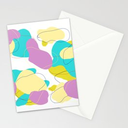 Lignes En Mouvement Stationery Cards