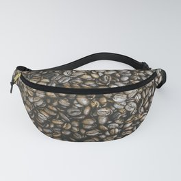 Coffee beans in Colombia Fanny Pack