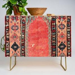 Sivas  Antique Cappadocian Turkish Niche Kilim Print Credenza