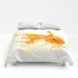 Watercolor Goldfish 1 Comforters