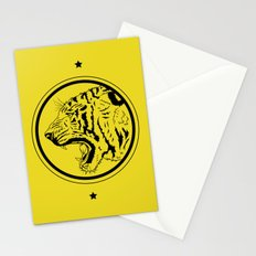 Tiger in a circle Stationery Cards