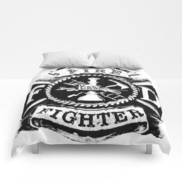 Fire Fighter Badge Comforters