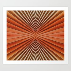 Geometric  pattern design Art Print