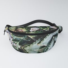 Succulents On Show No 2 Fanny Pack