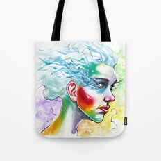 Portrait One Tote Bag