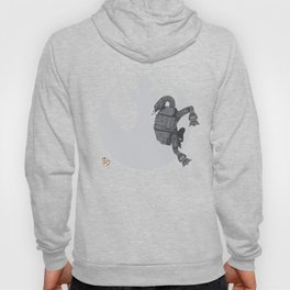 Droid Eek! (grey) - BB8 and AT-AT Standoff Hoody
