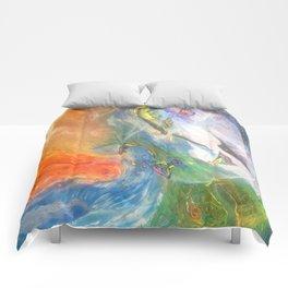 Elemental Dragons Comforters