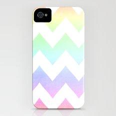Watercolor Chevrons iPhone (4, 4s) Slim Case