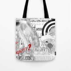 Werewolves don´t exist Tote Bag