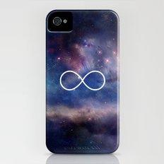 Infinity Symbol Stars Galaxy Space Slim Case iPhone (4, 4s)