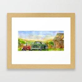 Halladay Farm Framed Art Print