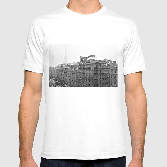Paris Snow T-shirt