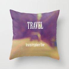 Travel  Throw Pillow
