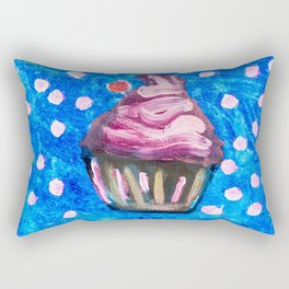 Sparkle CupCake Rectangular Pillow