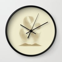 ampersand Wall Clocks featuring AmperSAND by Zach Terrell