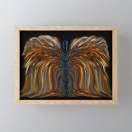 Lioness Blue Angel Framed Mini Art Print