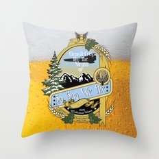 So Say We Ale Throw Pillow