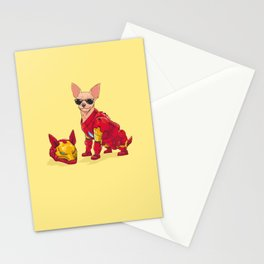 Chihuahua - Iron Man Stationery Cards