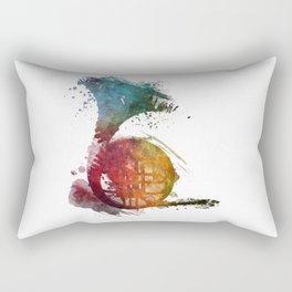 French horn Rectangular Pillow