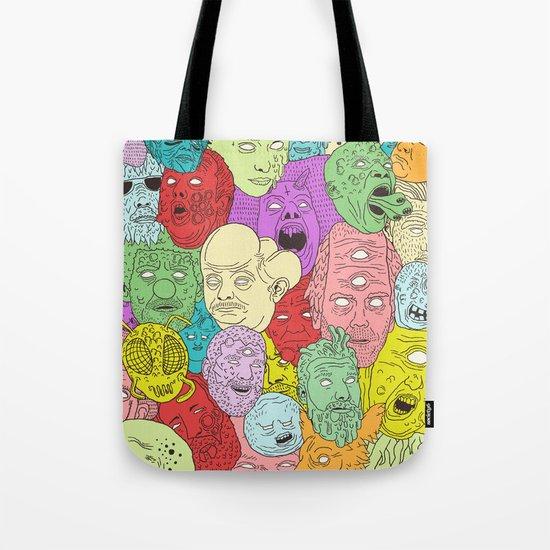 Faces of Math Tote Bag