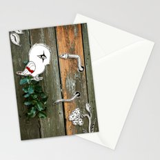 Theo and the Worm Stationery Cards
