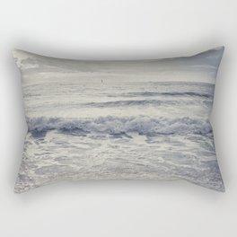 the distant birds Rectangular Pillow