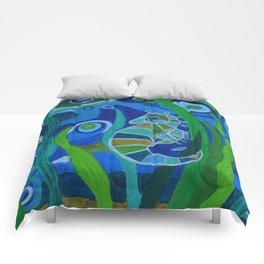 Seahorse Sea tote Comforters
