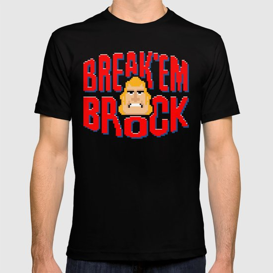 Break'em Brock T-shirt