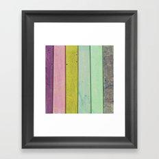 Jewel Tones Framed Art Print